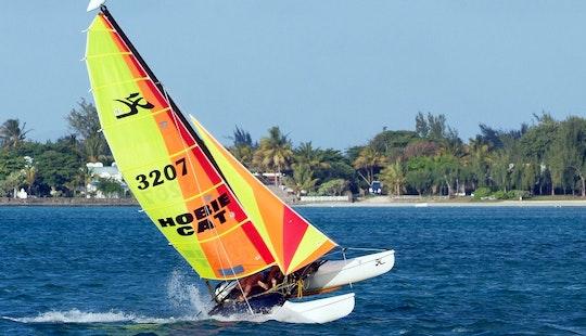 Daily Hobie Beach Catamaran Rental In Castelldefels, Spain