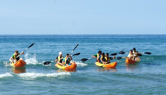 Relaxing Kayak Adventure In Castelldefels, Spain
