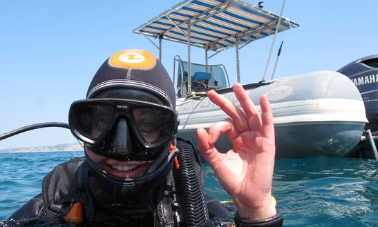 Rib Diving Trips & Certification In Marseille, France