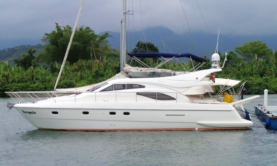 Ferretti 46 Milenium Cuddy Cabin/walk Around Rental In Angra Dos Reis