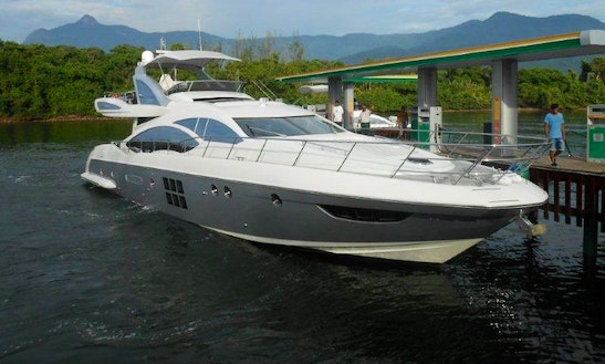 Azimut 72 Cuddy Cabin/walk Around Rental In Angra Dos Reis