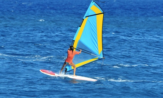 Windsurfing Hire & Lesson In Santorini