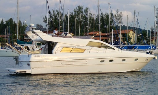 Intermarine 440 Full Gold Cuddy Cabin/walk Around Rental In Angra Dos Reis