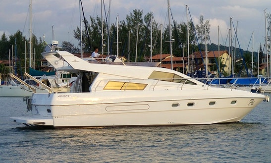 Intermarine 440 Full Gold Cuddy Cabin/walk Around Rental In Angra Dos Reis