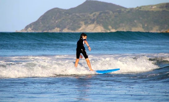 Surfing Lessons In Waipu