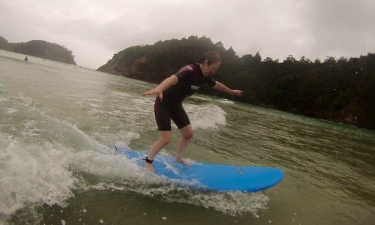 Surf Lessons In Tutukaka