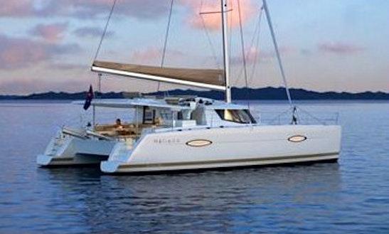 Helia 44 Sailing Catamaran In Paradise, At Meloneras,  Spain