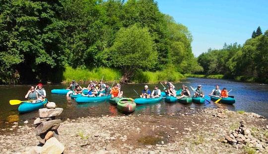 Double Kayak Trips In Vyšší Brod