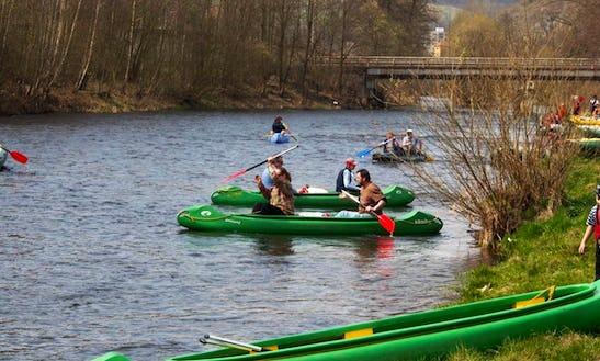 3-person Canoe Trips In Vyšší Brod