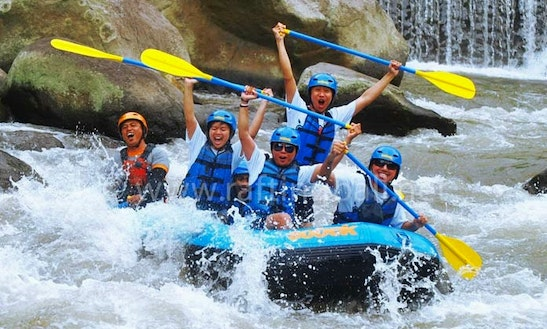 Amazing Rafting Tour In Kuta Selatan, Indonesia