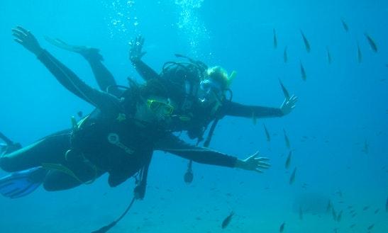 Diving Course In Santorini