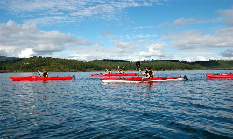 Single Kayak Trips in Rotorua