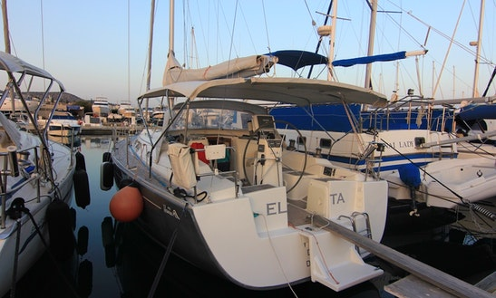 39ft Cruising Monohull Boat Rental In Limassol, Cyprus