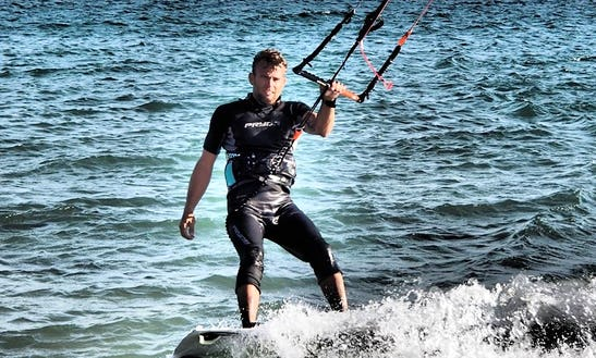 Learn Kiteboarding With Professional Instructor In Tarifa, Spain