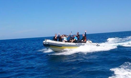 Boat Diving Trips In Javea, Spain