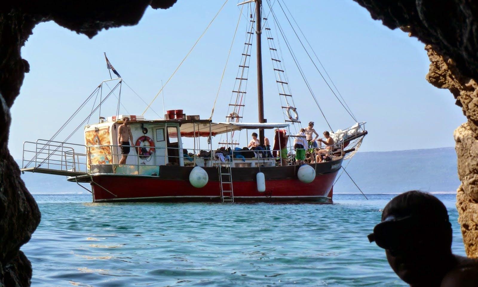 Kosljun Boat Diving Trips in Krk