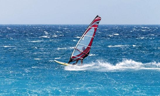 Windsurfing In Ayia Napa