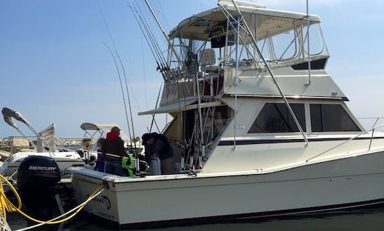 Sport Fisherman Fishing Charter In Sturgeon Bay