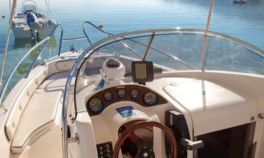 Rent 18' Cuddy Cabin Yacht for 7 People in Chalkidiki
