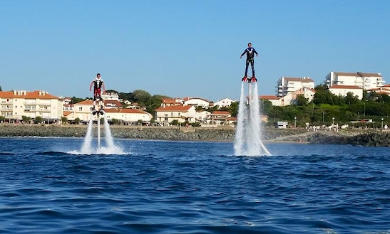 Flyboarding In Anglet, France