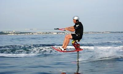 Fun Water Skiing Adventure in Anglet, France