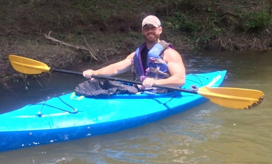 Single Kayak Rental In New Braunfels, Texas