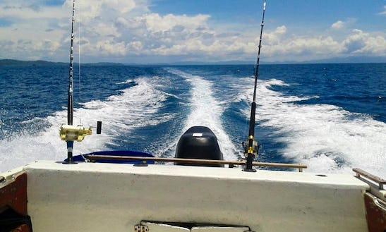 Cuddy Cabin Fishing Charters In San Juan Del Sur, Nicaragua