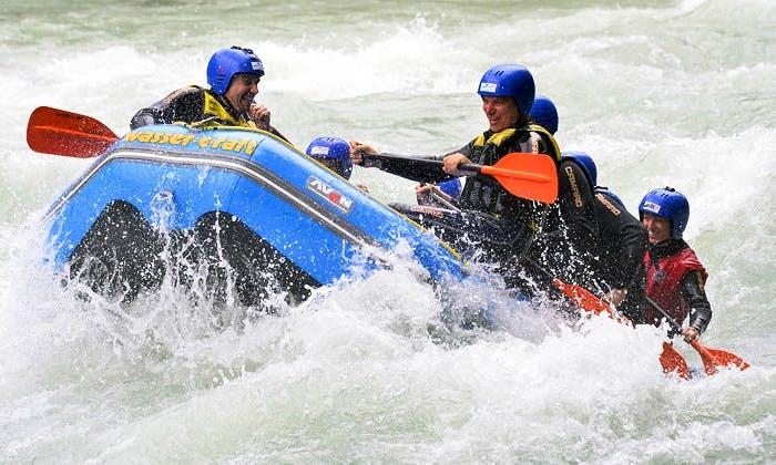 Rafting Trips in Gemeinde Haiming, Austria