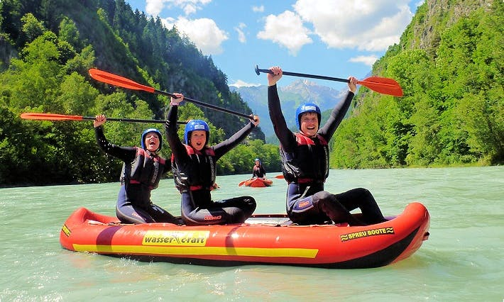 Wonderful Wild Water Rafting Trips in Tirol, Austria