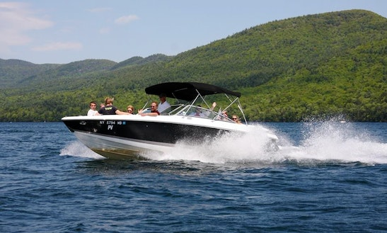 27' Cobalt Bow Rider (guided Tours) On Lake George, Ny