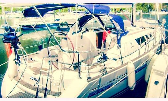 Sun Odyssey 361 Sailboat In Le Gosier