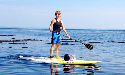 Paddleboard in Saanich