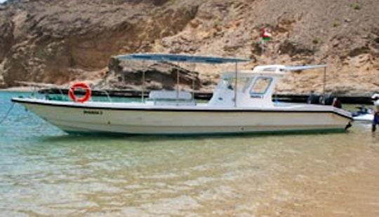 Boat Coastal Cruising In Muscat