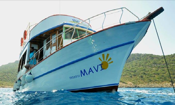 Mavi  Diving Boat Trips in Turkey