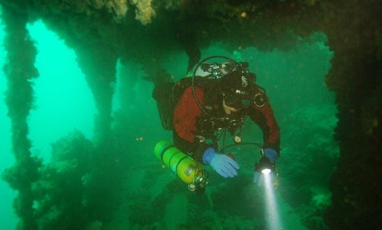 Rib Boat Diving In Rovinj - Croatia