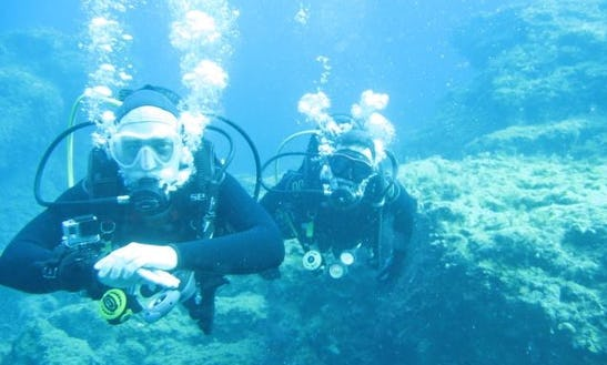 Boat Diving Trips & Courses In Pissouri