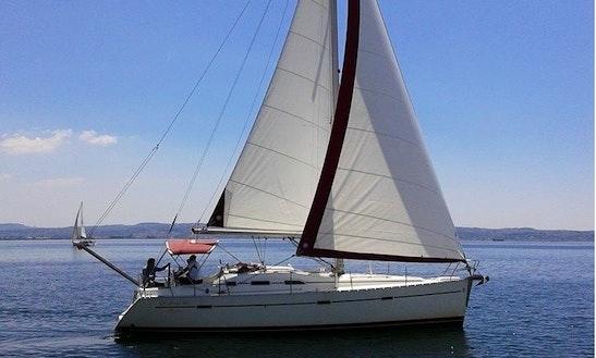 39' Beneteau Oceanis Sailing Yacht Charter In Chalkidiki
