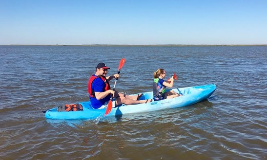 Tandem Kayak Rental & Tours In Jekyll Island, Georgia