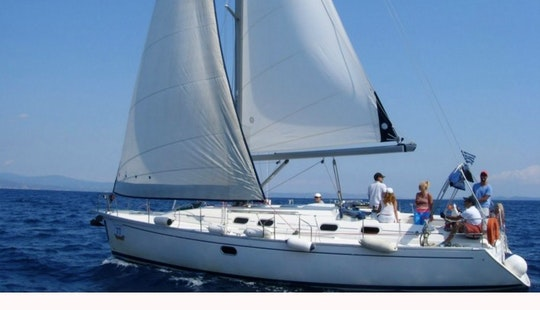 Charter Dufour Gibsea 41 Sailboat In Chalkidiki