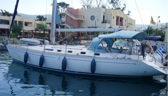 The Doufour 45 Sailing Yacht In Chalkidiki
