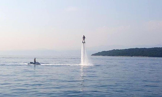 Flyboarding In Njivice