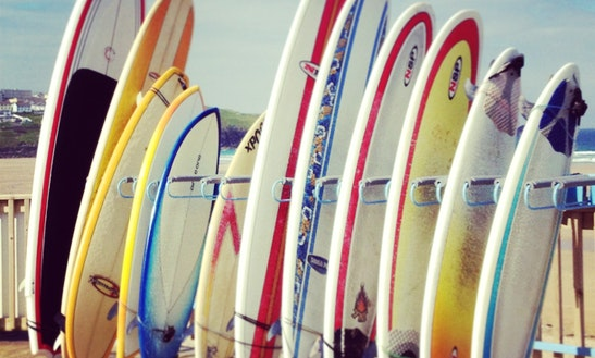 Paddleboard, Surf Lessons & Hire On Fistral Beach