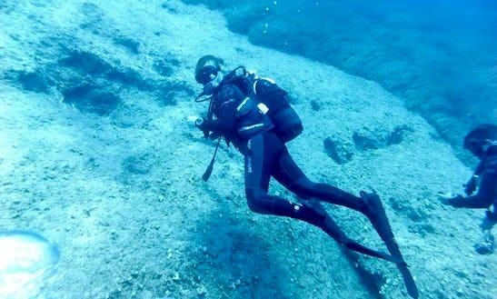 Diving In Escape Beach - Cyprus
