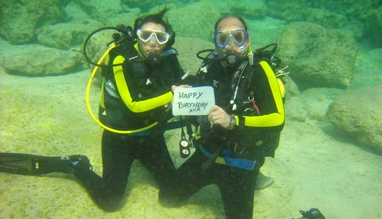Professional Scuba Diving Courses Based In Protaras, Cyprus