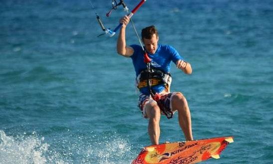 Kiteboarding In Limasol - Cyprus