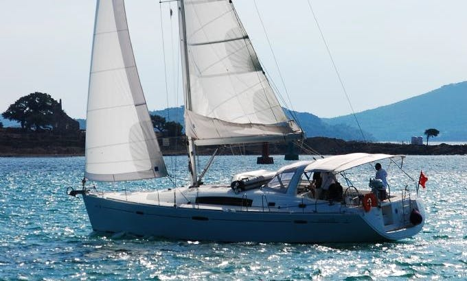 'Rhea' Beneteau 50 Yacht Charter in Turkey