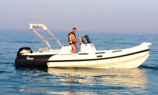 Cayman 21 Sport Boat Rental In Badolato, Italy