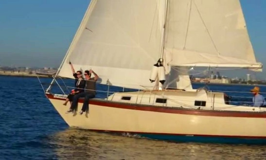 Enjoy 34' Cruising Monohull Captained Charter In San Diego
