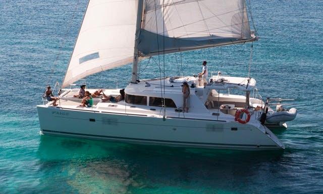 Lagoon 440 Cruising Catamaran Charter in Ibiza