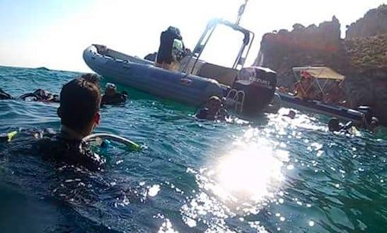 Rib Diving Trips In Sperlonga, Italy